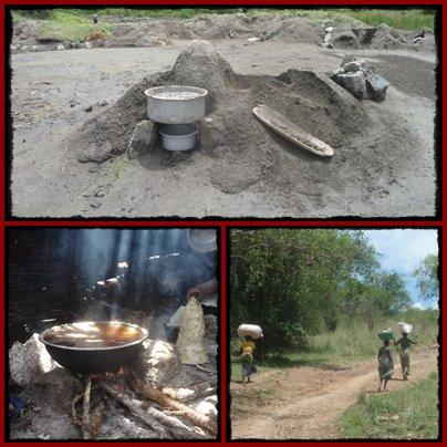 Kibiro Salt Gardens - Lake Albert - Western Rift Valley Escarpment