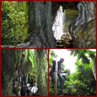 The Amabere Ga Nyina Mwiru Caves near Kibale Forest