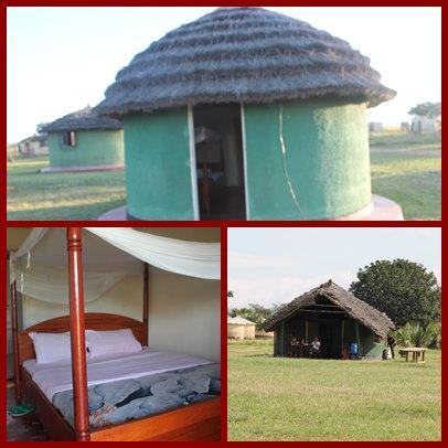 Apoka Rest Camp inside of Kidepo Valley Park