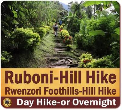 Ruboni Village in the Foothills of the Rwenzori Mountains