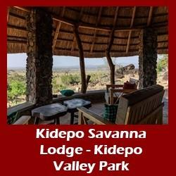 Lodging Choices  - Kidepo Valley National Park