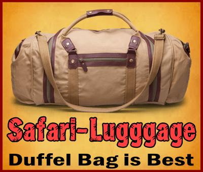 Packing for your African Safari in Uganda or Rwanda