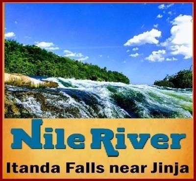Itanda Falls - on the Nile in Jinja