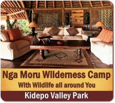 Nga' Moru Wilderness Camp - Kidepo Valley Park