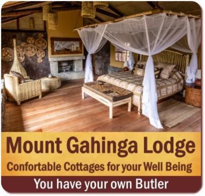 The Exclusive Mount Gahinga Lodge - Mgahinga Gorilla Park in Uganda