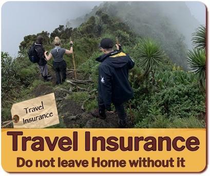 Safari Travel Insurance - do not book your Safari in Uganda without it!