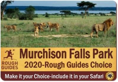 Rough Guides-Murchison Falls Park pick of the best places to travel in 2020