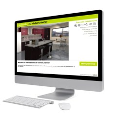 Kitchen Planner White Buffet 3d Kaboodle