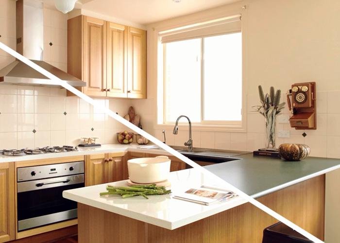 Kitchen Benchtop Swap Kaboodle Kitchen