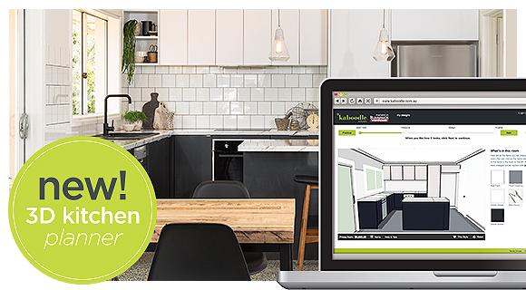 kitchen planner modern tile plan your dream kaboodle 3d