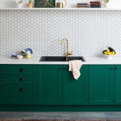 Paint Ideas For Living Room Feature Wall Furniture Table Royal Green - Kitchen Inspiration And | Kaboodle