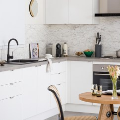 Complete Kitchen Trailer Cabinets Build Your For Under 5k Kaboodle L Shaped With Blind Corner Cabinet