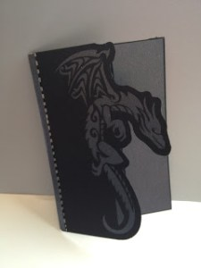 Finished Dragon Card
