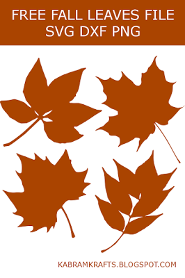 FREE FALL LEAVES SVG FILE
