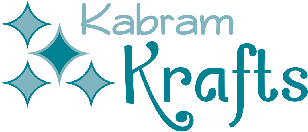 Kabram Krafts Diamond Teal Logo
