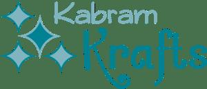 Kabram Krafts Diamond Teal Logo