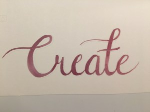 create watercolor