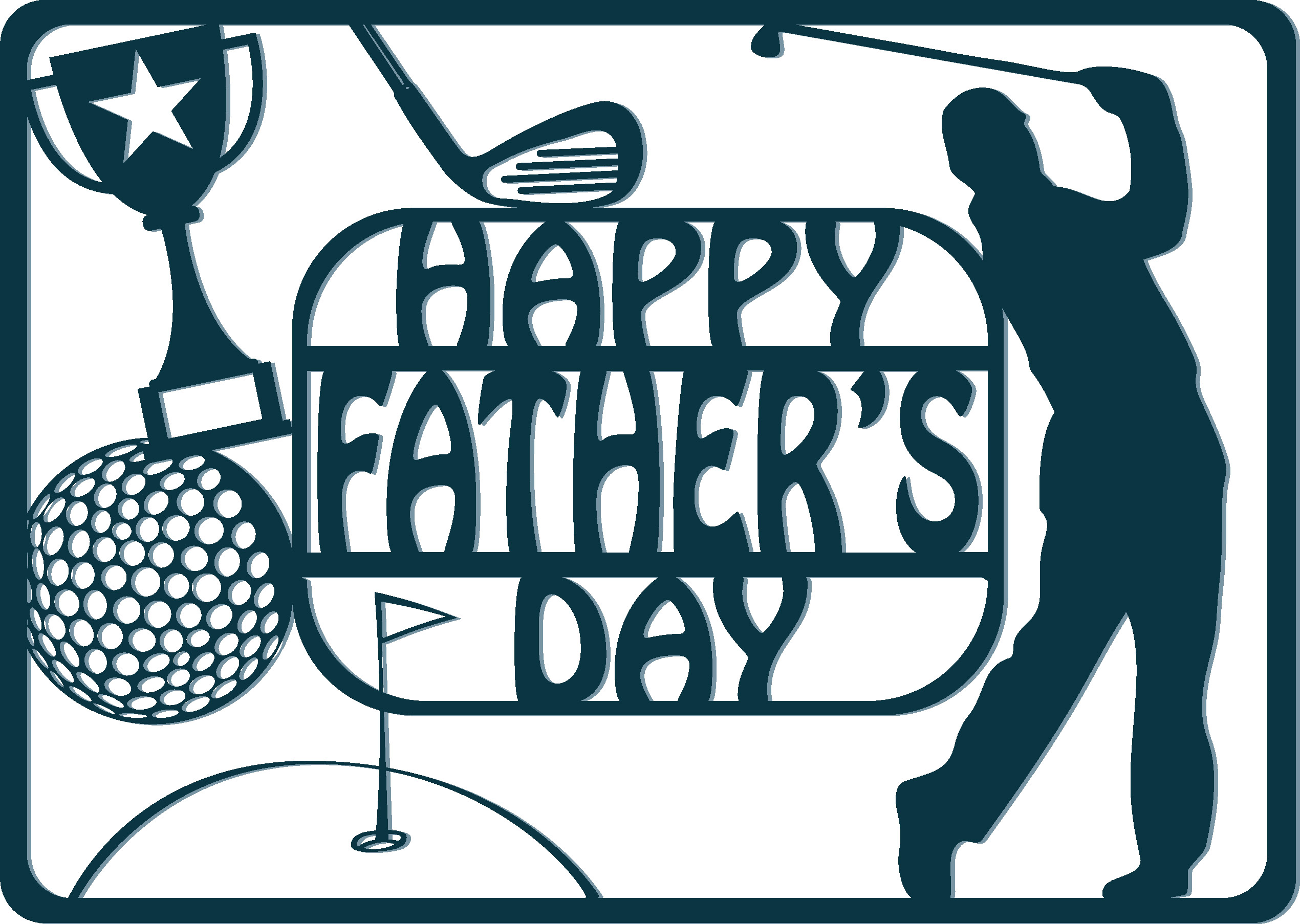 File Check Out Card free father's day svg cutting overlays for making your own