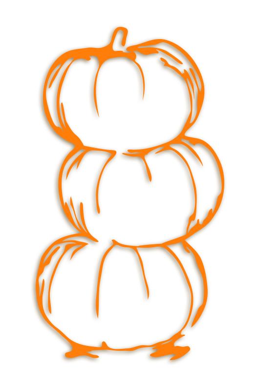 Pumpkin Stack Svg Fall Freebie 187 Kabram Krafts