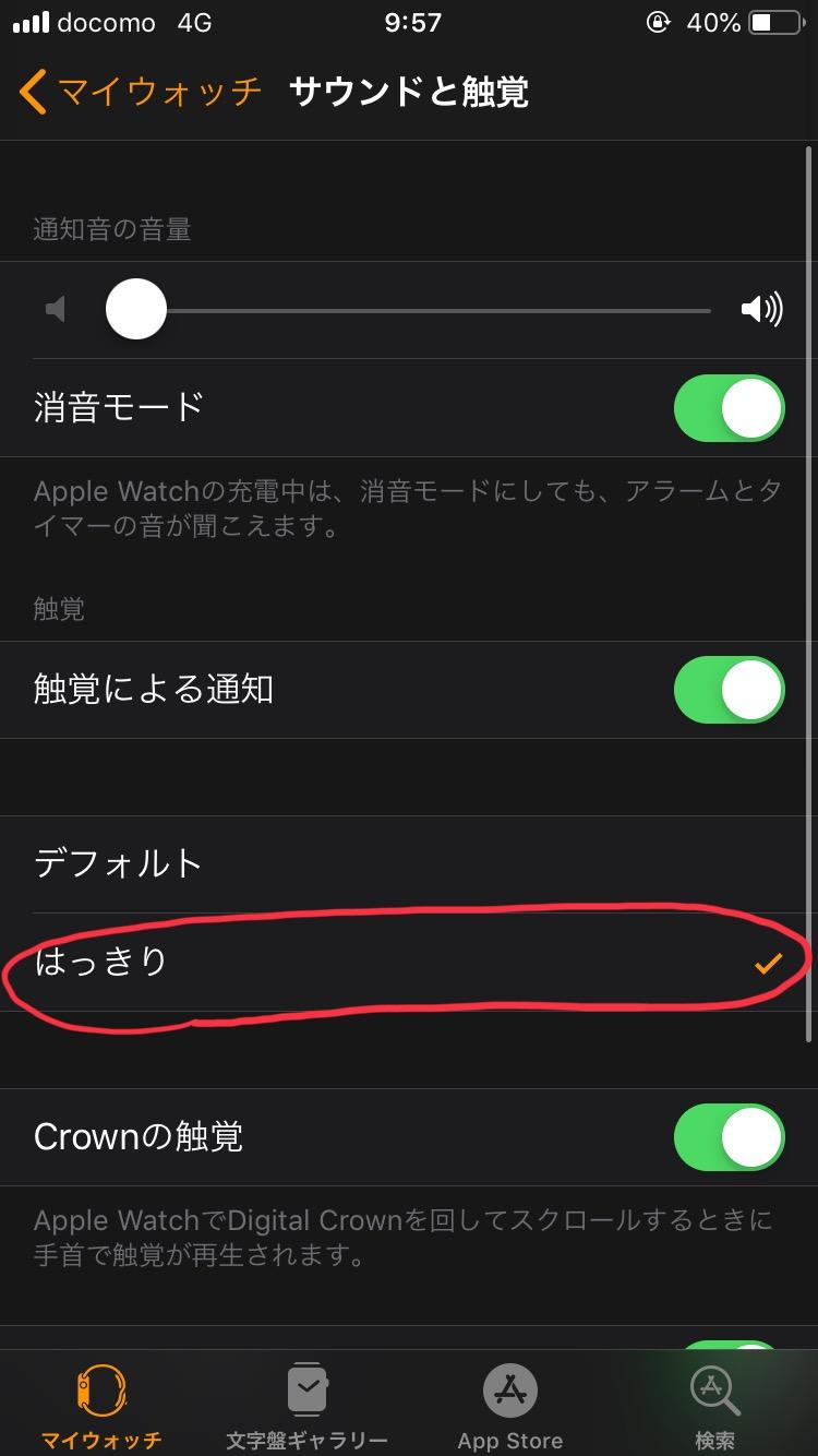 Apple Watch マイウォッチ サウンド