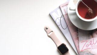 Apple Watch 雑誌 紅茶