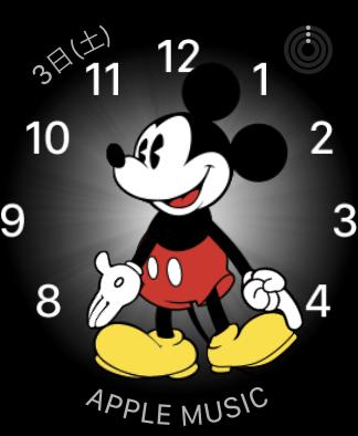 Apple Watch ミッキーマウス