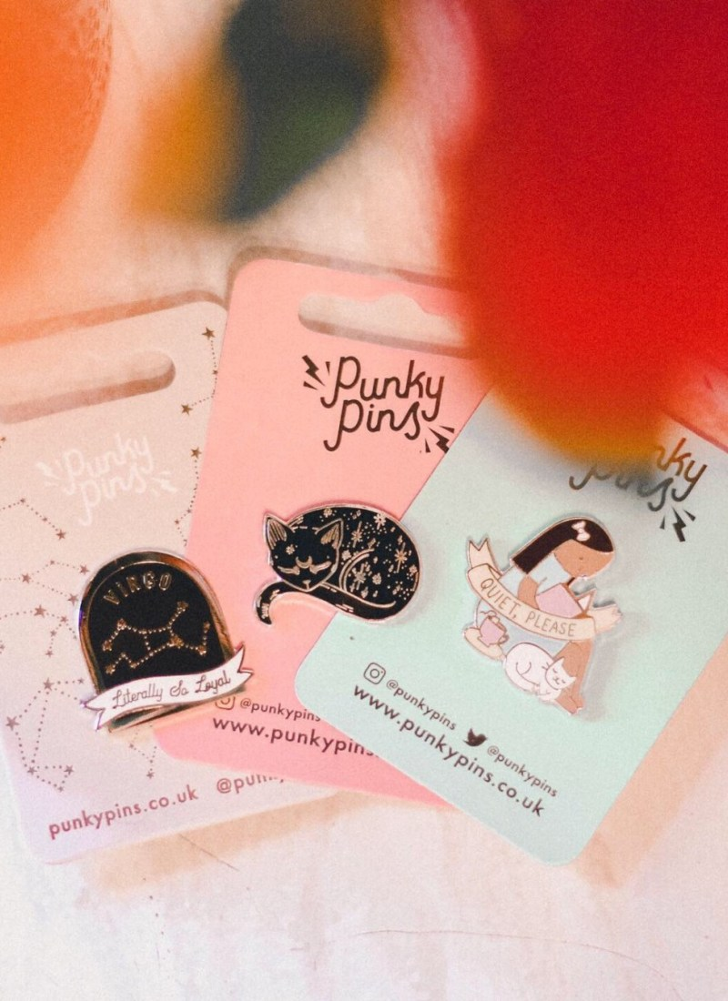 The Cutest Enamel Pins from Punky Pins