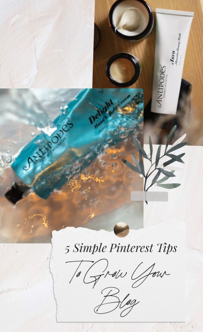 5 Simple Pinterest Tips to Grow Your Blog