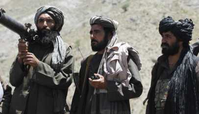 Taliban rocket attack