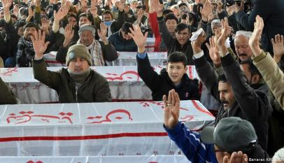 Fear of death; Pakistan's Hazaras protest against killing miners