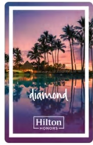 SPGアメックスカード保有でヒルトンのダイヤモンド会員に期間限定でなれる方法
