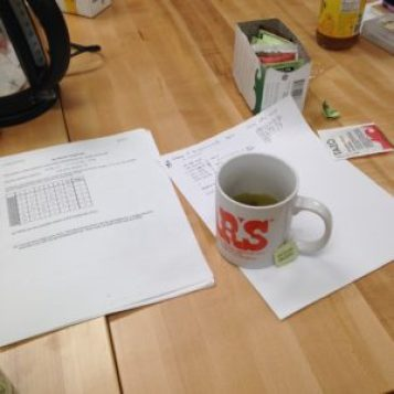 A worksheet on subgroups of D3 and some tea.