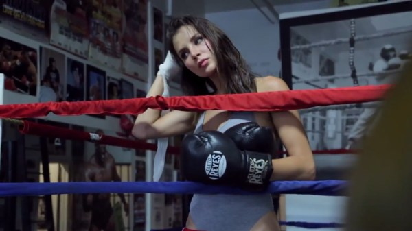 Kacey Barnfield Boxing Shoot Scenes Video