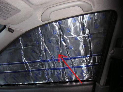 Шумоизоляция стекол авто