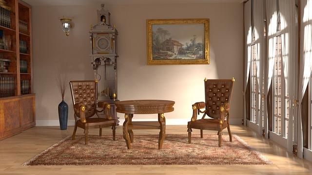 金持ちの部屋の画像