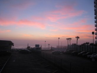 Sunset at Daytona 2009