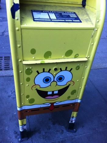 NYC post box