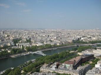 Paris from above (Le tour Eiffel)