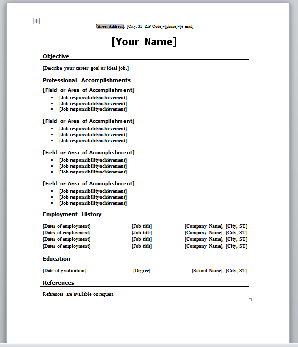 Post A Resume For Free The Best Job Posting Template Word Aploon