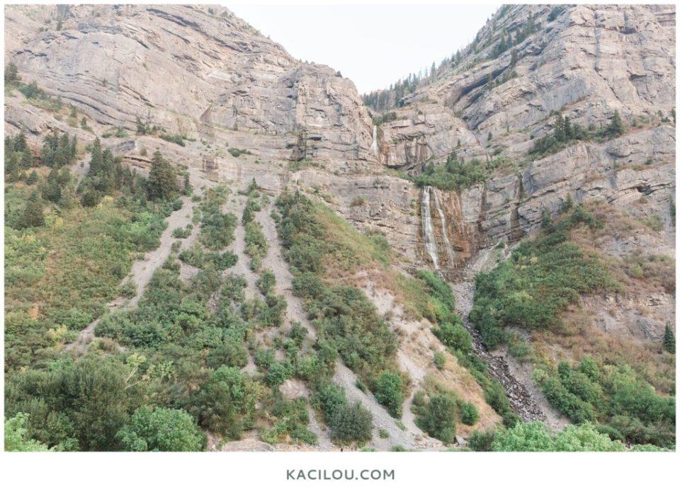 Bridal Veil Falls Utah Road Trip