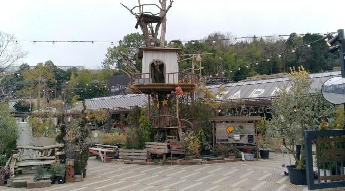 大阪茨木市のちょっと山の中、家族で楽しめる植物の楽園THE FARM