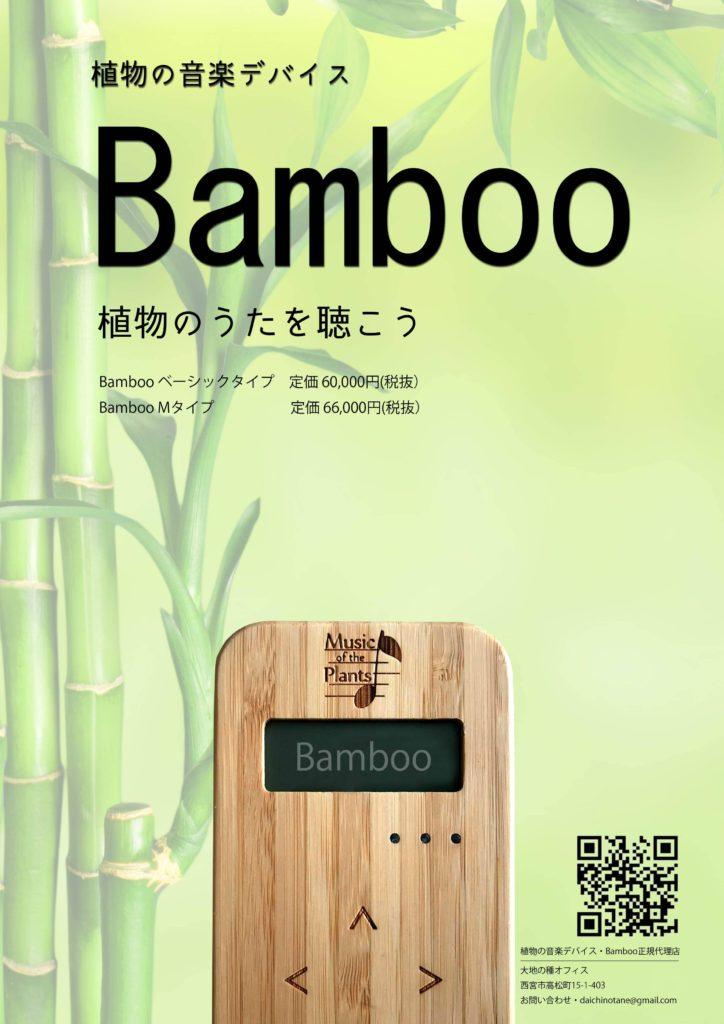 植物音楽バンブー