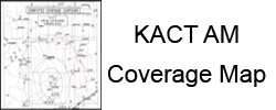 KACT AM Coverage Map