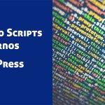 Formas de agregar scripts externos a WordPress