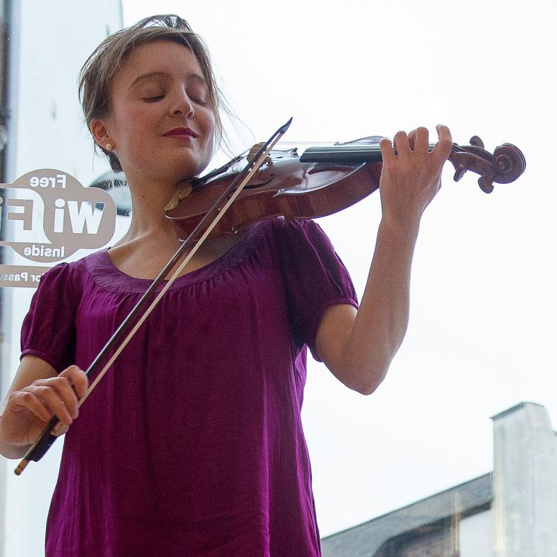 Violin player - May Robertson