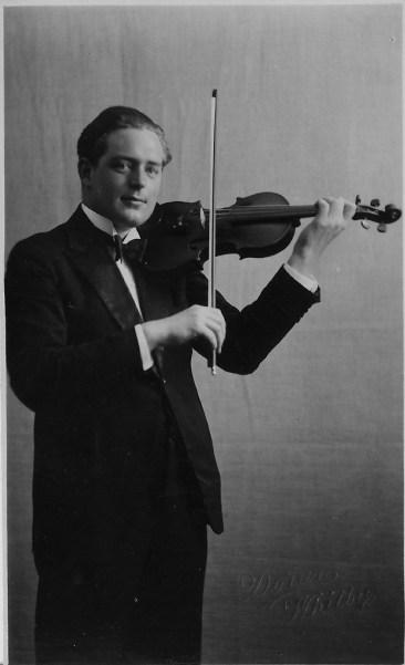 Reginal Stead MBE lead violinist BBC Northern Orchestra