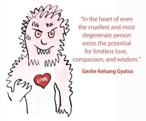 in the heart of even the cruellest person...