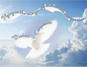 wings of wisdom and compassion