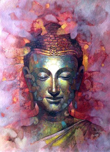 Buddha not under the influence