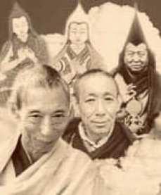 Geshela and lineage Gurus